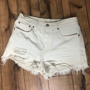 Levi's Wedgie Fit Shorts Size 27